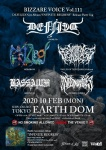 DEFILED, MERZBOW, VALLEY OF THE HEADLESS, BASSAIUM, INFERNO HADES