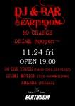 DJ & BAR at EARTHDOM: DJs So The Youth, Izumi Motion, Amanda