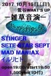 SETE STAR SEPT, STINGER, MAD MANIAX, イルリヒト
