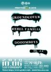 GROUNDCOVER., REBEL FAMILIA, DOOOMBOYS, DJ MEME