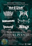 DEFILED, VALLEY OF THE HEADLESS (Korea), GOREVENT, PERSEVERANCE, ZOMBIE RITUAL, MARUBULLMEN, DISTEMPER
