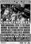 EXPIRE (USA), COUNTERPARTS (Canada), RUDE AWAKENING (USA), LOYAL TO THE GRAVE, NUMB, BLINDSIDE, more