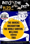 ROCKBOTTOM, MELLViNS, THE KNOCKS, THE NOBLE SURFERS, TRIO, ndovus