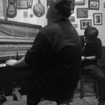 Aaron Choulai (piano) & 松丸契 (saxophone)