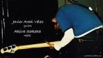 Akira Sakata (reeds), Joe Talia(ds), Javier Areal Vélez (guitar)