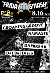 GROANING GROOVE, NAMASTE, DAYBREAK, Dai Dai Disco