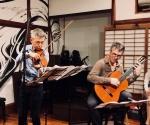 Naoki Kita (vln) & Leonardo Bravo (gt) Tango duo