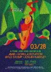 Josiah Hawley, AMiR, Gorilla Rotation, Wild Stomp