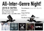 The Bollands (NZ), えすてに, THE BLACKLIGHT JUNKYES, ANGRY MCFINN AND THE OLD YANK, LABLION