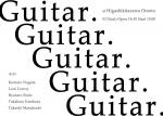 Guitar.Guitar.Guitar.Guitar.Guitar.: K Nagata, L Lerroy, R Endo, T Umehara, T Masabuchi