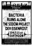 BACTERIA, RUINS ALONE, THE SODOM PROJECT, DER EISENROST