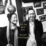 Francesca Han (pf) & Takashi Sugawa (cello, bass)