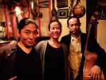 フランチェスカ・ハン (piano), 松井宏樹 (saxophone), 須川崇志 (contrabass)