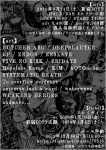 BUTCHER ABC, DEEPSLAUTER, EF, ENDON, ENSLAVE, FIVE NO RISK, FRIDAYZ, Hopeless Raven, KiM, kOTOnoha, more