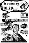 Table, BROILER, NAMASTE, SOUTH AFRICAN STANHOPE, sassya-, MAD MANIAX, MEATEATERS