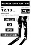 SHAPEEN!!, YGK, The Peckerheads, Achin'