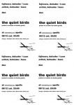the quiet birds - purker to ornette via konitz gently - 藤原大輔 (tenor saxophone) & 落合康介 (bass)