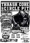 CRUCIAL SECTION, FLiPOUT A.A, FASTener, MAD MANIAX, FALLING DOWN, INTO THE GREY, DUSTPAN