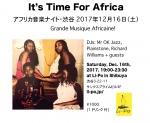 It's Time For Africa: DJs Mr OK Jazz, Plainstone, Richard, Zafarista, Pallaksch, MPFlapp