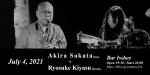 坂田明 (Akira Sakata) + Ryosuke Kiyasu