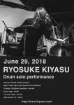 Ryosuke Kiyasu drum solo performance
