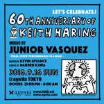 60th ANNIVERSARY OF KEITH HARING feat. JUNIOR VASQUEZ