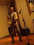 Naoji Kondo (baritone sax, tenor sax), Toshiki Nagata (double bass), Takashi Seo (double bass)