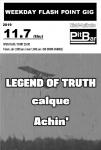 LEGEND OF TRUTH, calque, Achin'