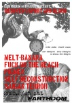self deconstruction, FUCK ON THE BEACH, PIGMEN, MELT-BANANA, SAIGAN TERROR