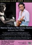 SUBstore LIVE JAZZ Session feat. Metta Legita & Hironobu Saito