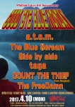 Count The Thief, a.t.o.m., The Blue Scream, Side by side, taga, The FreeDamn