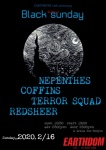 NEPENTHES, COFFINS, REDSHEER, TERROR SQUAD