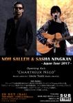 Noh Salleh & Sasha Ningkan