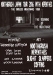 NOOTHGRUSH, NEPENTHES, SLIGHT SLAPPERS, COFFINS