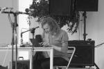 Olaf Hochherz (half animal synthesizer), Hiroshi Shimizu (per, etc), Masafumi Rio Oda (PC), Yumiko Yoshimoto (g, daxophone)