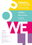 POWELL (from UK), NHK yx Koyxen (from Osaka), DJ Le Perrie
