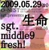 sgt., middle 9, fresh!