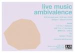 Live Music Ambivalence Vol. 10: ミキウエノ, BOKUGO, 辻村マリナ, このよのはる, 高瀬かなえ, Chieco