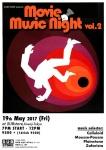 MOVIE MUSIC NIGHT vol.2: DJs Celluloid, Mousse-Pousse, Plainstone, Zafarista