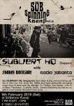 SUBspinning Koenji Vol. 2: Subvert HQ (Singapore), Shuhei Noritake, Radio Jakarta