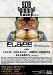 SUBspinning Koenji Vol. 4: DJs ELBEE, HOUSE VIOLENCE, RADIO JAKARTA, ELISION