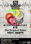 SUBspinning Koenji Vol. 07: DJs MITSUCO DELIGHT, A G, The Original Dome, RADIO JAKARTA