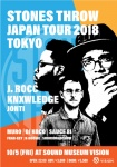 STONES THROW JAPAN TOUR 2018: J ROCC, KNXWLEDGE, JONTI