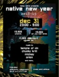 Tokyo Native Presents Native New Year: DJs Orion, Chunky Krill, Temple of Xin, more @ Cross Point 渋谷