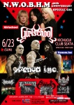 Girlschool (UK), Venom Inc. (UK), The Babes (AU), Sabbat (JP), Survive (JP), Hell Freezes Over (JP)