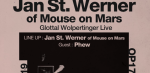 Jan St. Werner of Mouse on Mars, PHEW @ OAG Haus