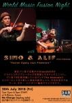 World Music Fusion Night: Simo & Alif (Indonesia)