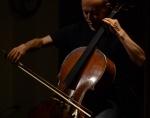 Kazuya Matsumoto (percussion), Yasumune Morishige (cello)